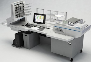 Opex scanner Document scanning, mail opening, image capture