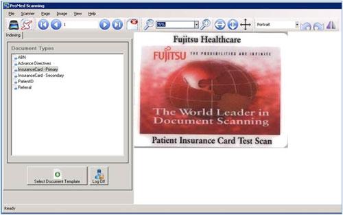 ProMed Patient Registration Scanning