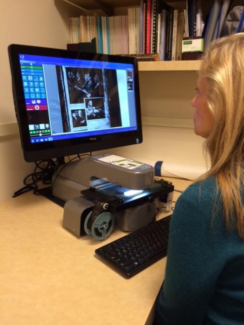 BSO-user UScan Microfilm Scanner Milcrofiche Reader